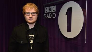Ed Sheeran debuta 'Castle on the Hill' en vivo en BBC Radio 1