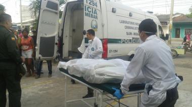En video   Cámara de seguridad registró asesinato de policía en el sur de Barranquilla