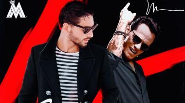 En video | Así grabaron Marc Anthony y Maluma el video de 'Felices los 4'