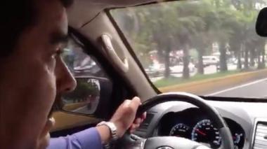 En video  Maduro conduce por Caracas para mostrar al pueblo trabajando
