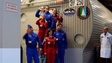 Estarán aislados 17 días para simular viaje a la Luna