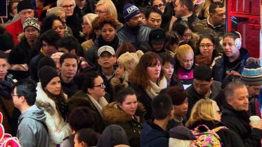 """La voraz carrera del """"Black Friday"""" en Estados Unidos"""