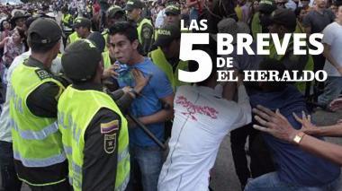Las 5 breves de EH | Policía atiende 854 riñas entre el 7 y el 10 de diciembre