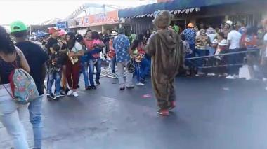 Disturbio provocado por un espectador en Carnavales