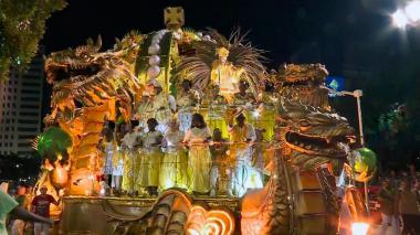 En video | Río de Janeiro y Bolivia se gozan su Carnaval
