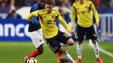 James y Falcao hablan de la victoria 3-2 de Colombia sobre Francia