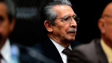 Muere exdictador guatemalteco Ríos Montt acusado de genocidio