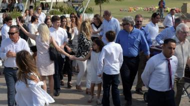 Sofía Vergara acompaña el féretro de su tía Lilita Vergara de Jaramillo