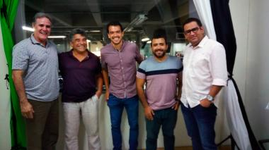 Javier Castell, Dagoberto Escorcia, Sebastián Hernández y Rafael Castillo.