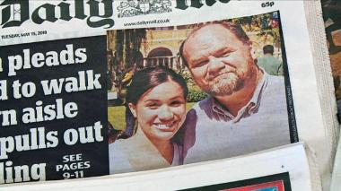 Posible ausencia del padre de Markle ensombrece boda de Enrique