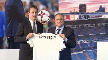Real Madrid presenta a Lopetegui como su nuevo entrenador