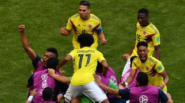 Así fue el gol de Juan Fernando Quintero ante Japón