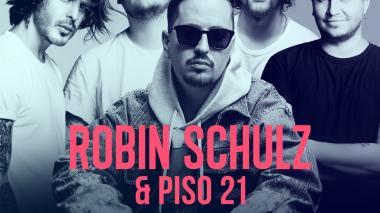 Robin Schulz y Piso 21 presentan nueva versión de 'Oh Child'