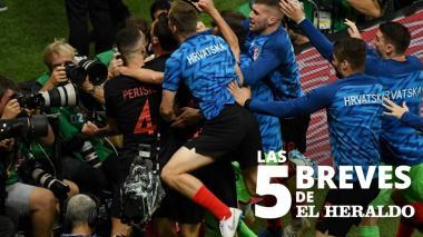 Las 5 breves de EH | Croacia vence a Inglaterra y jugará la final contra Francia