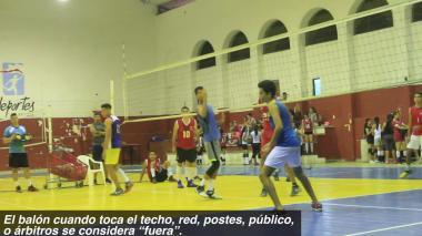 El voleibol se juega así