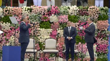 En video | Así fue el juramento y la imposición de banda de Iván Duque