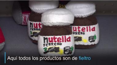 Supermercado comercializa alimentos de tela