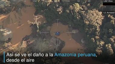 Así se ve el daño ambiental en la Amazonía peruana