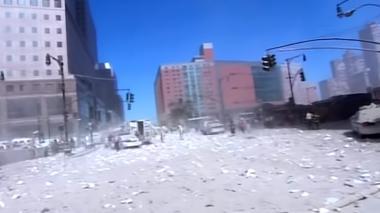 Divulgan grabación inédita del ataque a las Torres Gemelas