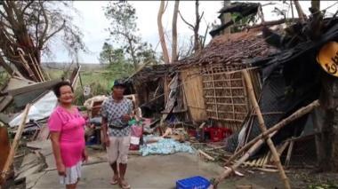 Supertifón Mangkhut deja ocho muertos en Filipinas y Taiwán