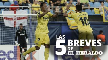 Las 5 breves de EH   Bacca anotó un golazo en el empate del Villareal ante el Rangers