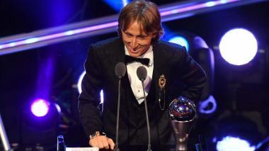 En video | Con estos goles Luka Modric se coronó como el mejor jugador de 2018