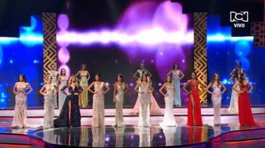 """Así anunciaron las diez semifinalistas de Señorita Colombia """"Rumbo a Miss Universo 2018"""""""