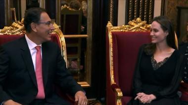 Venezolanos en Perú piden oportunidad, no caridad: Angelina Jolie