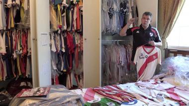 Hincha de River viajó más de 15 horas para la final de la Copa Libertadores