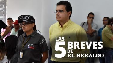 Las 5 breves de EH | Ramsés Vargas ya fue recibido en la Distrital El Bosque