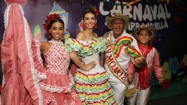 En video | Así se prepara la Reina del Carnaval Carolina Segebre previo al Bando 2019