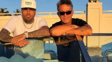 Alejandro Sanz fusiona ritmos tropicales con  trap en 'Back in the City' junto a Nicky Jam