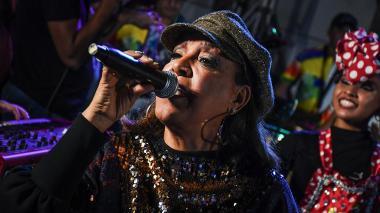 #SesionesEH | Milly Quezada le cantó  'La Guacherna' a Esthercita y a Barranquilla