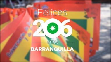 El pasado y el presente de Barranquilla en sus 206 años