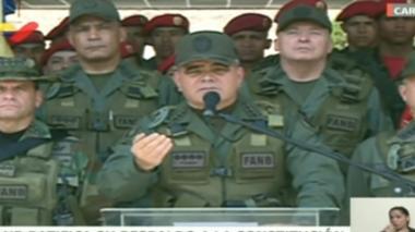 A Miraflores no se llega con violencia: Jefe militar de Venezuela