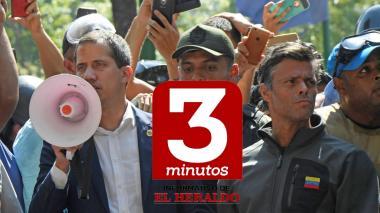 Informativo 3 minutos de EL HERALDO | Liberan al opositor venezolano Leopoldo López