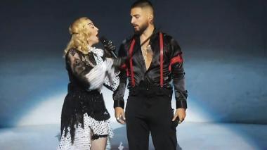En video | Reviva la presentación de Maluma y Madonna en los Billboard 2019