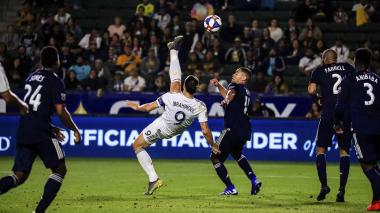 En video   ¡Golazo! Esta fue la última joya de Zlatan Ibrahimovic en la MLS