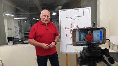 En video | El 'profe' Ortega analiza la victoria 1-0 de Junior ante Pasto