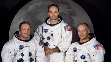 En video | Estos son Neil Armstrong,  Buzz Aldrin y Michael Collings, los primeros en llegar a la Luna