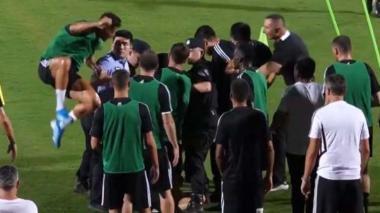 Cristiano Ronaldo le jugó una broma a un Policía en China