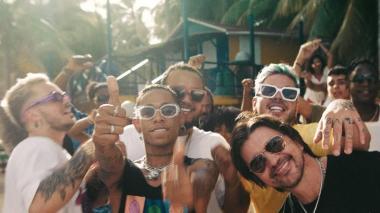 'Todo bien' con Juanes, Yera, Lalo Ebratt y Skinny Happy