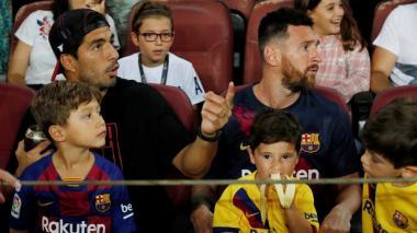 En video | Mateo Messi se vuelve viral tras celebrar una jugada del Barça que no fue gol