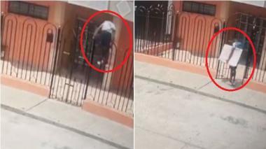 """Autoridades revelan video de un """"robo cometido por el 'Pupileto"""" en La Victoria"""