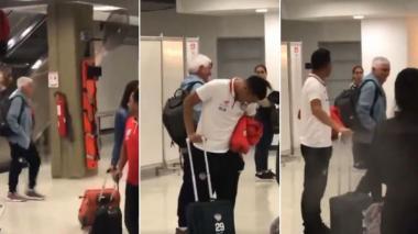 "En video | ""¡Pelo'e burra, Pelo'e burra!"": jocoso recibimiento de los junioristas en Cúcuta"