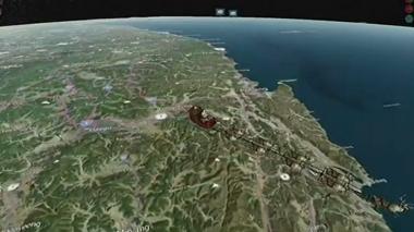 Siga en vivo el recorrido de Papá Noel en su entrega de regalos por el mundo