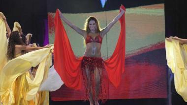 En video   El homenaje de Isabella Chams Vega a Shakira en la Lectura del Bando