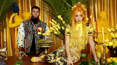 En video   Shakira lanza el video de 'Me gusta' junto a Anuel AA