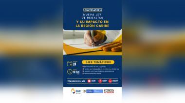 En video| Conversatorio sobre nueva Ley de Regalías y su impacto en el Caribe
