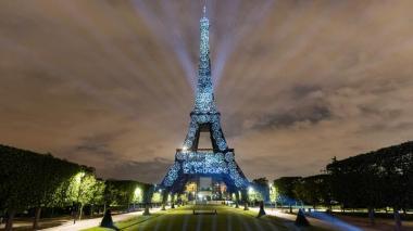 La Torre Eiffel, iluminada con hidrógeno renovable